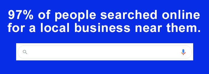 97% local near me searches online